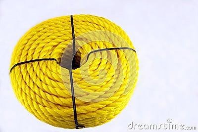 Cuerda de nylon amarilla fotograf a de archivo imagen - Cuerda de nylon ...