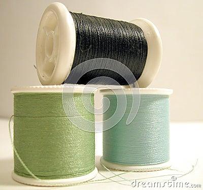 Cuerda de rosca coloreada fresca