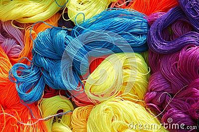 Cuerda de rosca del algodón