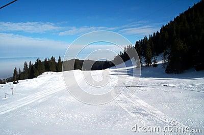 Cuesta del esquí