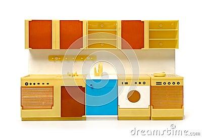 Cuisine en plastique rare de jouet photo stock image 56213929 - Cuisine plastique jouet ...