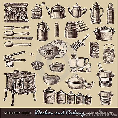 Cuisine et cuisson des éléments de conception