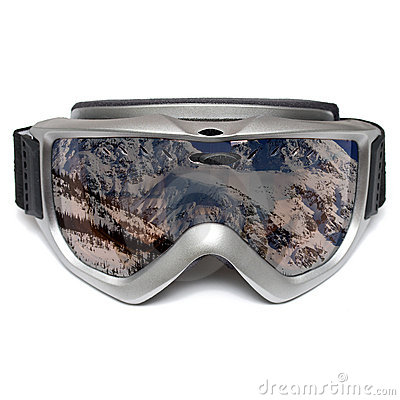 Óculos de proteção do esqui