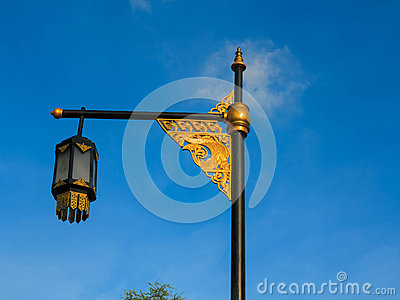 Culture street lamp