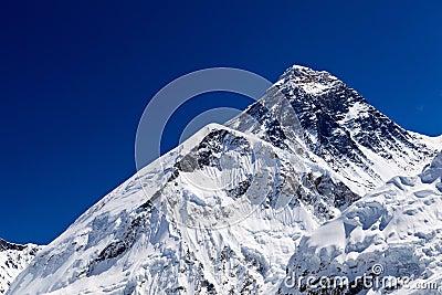 Cumbre de Everest de montaje