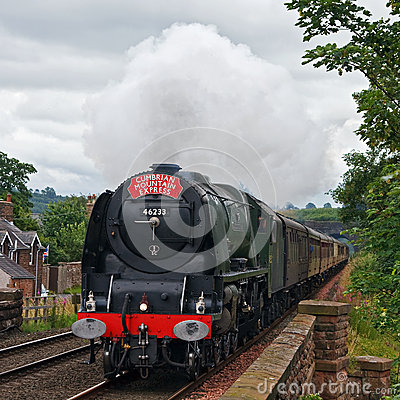 Cumbrian Mountain Express Editorial Stock Image