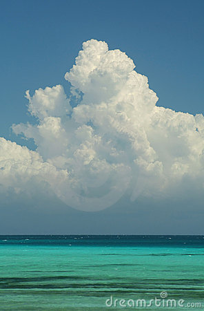 Royalty Free Stock Photo: Cumulo Nimbus Cloud