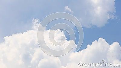 Cumulonimbus Cloudscape-Time Lapse-statischer Schuss stock footage