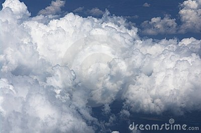 Cumulus cloud formation