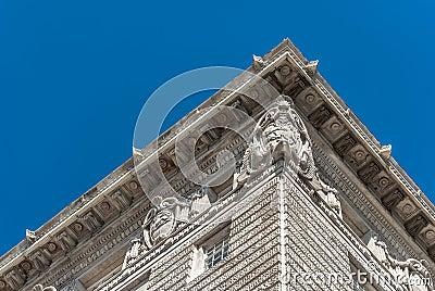 Cunard Building Detail