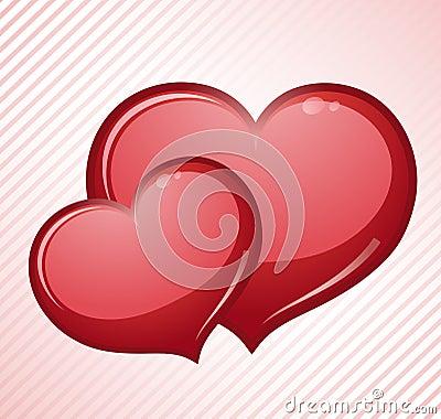 Cuori rossi di amore fotografie stock immagine 23700483 for Immagini di cuori rossi