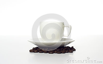 Cup on beans