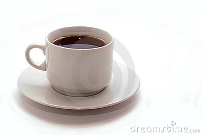 Cup of black cofee