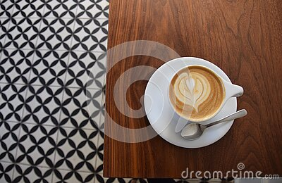 Cup Of Cappuccino Coffee Free Public Domain Cc0 Image