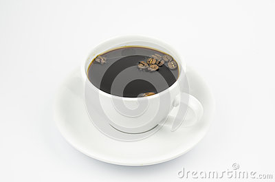 A cup with coffee