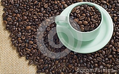 A Cup Of Coffee Bean