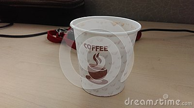 A cup of coffee Editorial Stock Image