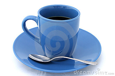 Cup of Coffee With Spoon