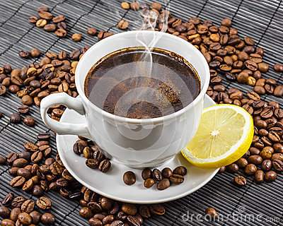 Cup of Delicious Aromatic Coffee