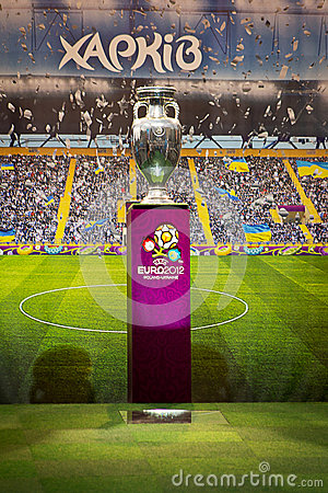 Cup European Football Championship 2012 Editorial Photo