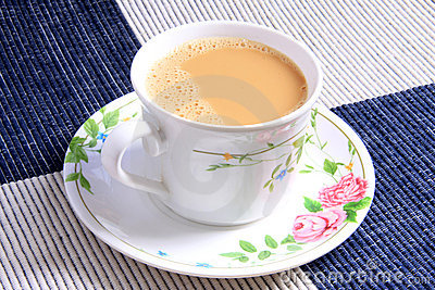 Cup Of Milk Tea Stock Photography - Image: 20969682