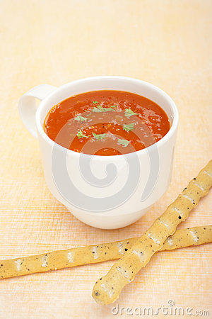 Cup Mug Low Fat Tomato Soup