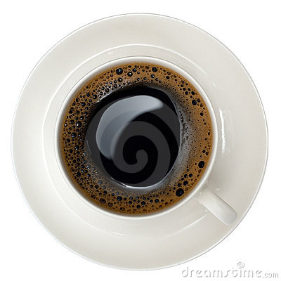 Free Cup Of Black Coffee Royalty Free Stock Photos - 5205608