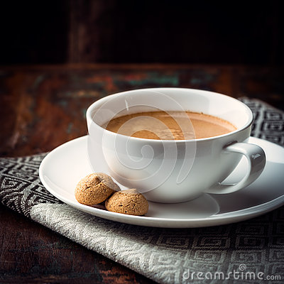 Free Cup Of Caffe Crema Royalty Free Stock Images - 26173659