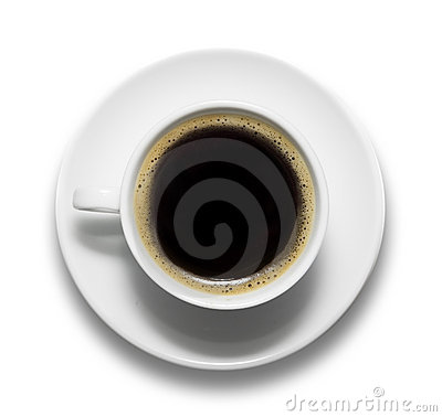 Free Cup Of Coffee And Saucer Stock Photography - 16619832