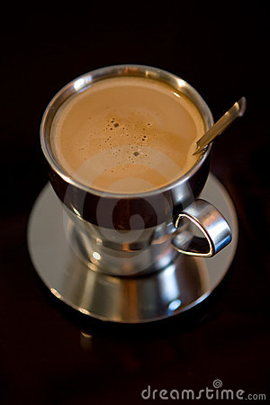 Free Cup Of Coffee With Milk Stock Photo - 3099280