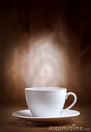 Free Cup Of Coffee With Smoke Royalty Free Stock Photos - 18466728