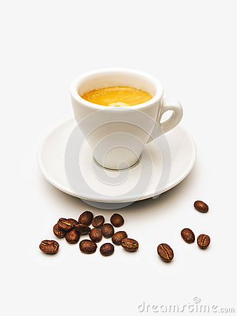 Free Cup Of Espresso Royalty Free Stock Image - 40856916