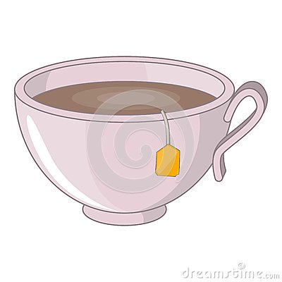 Free Cup Of Tea Icon, Cartoon Style Royalty Free Stock Image - 83693016