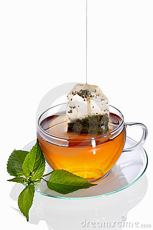 Free Cup Of Tea With Teabag (concept) Stock Photography - 16790572