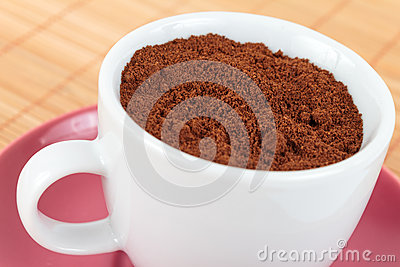 Cup of strong coffee