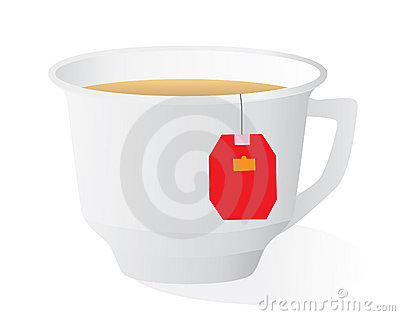 A cup of strong tea