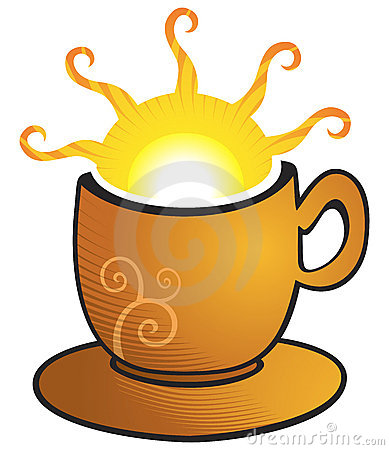 Cup with sun