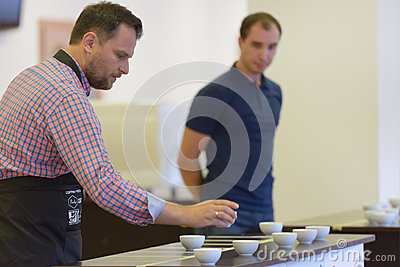Cup tasters championship Editorial Photography