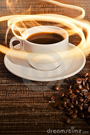 Cup of Warm Coffee
