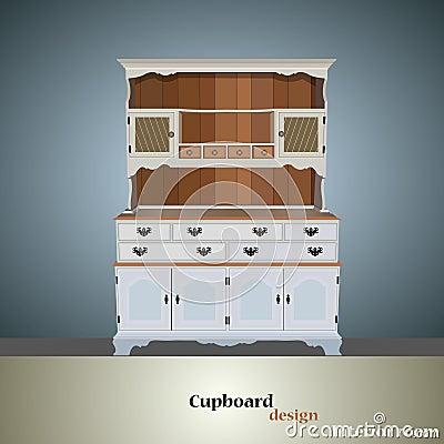 Cupboard icon Vector Illustration