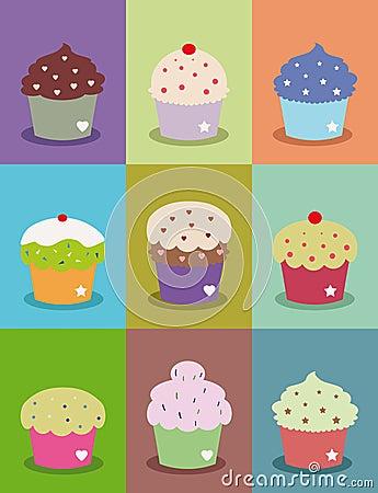 Cupcake frames