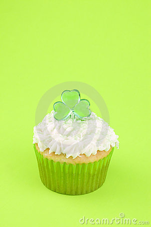 Cupcake for Saint Patricks Day