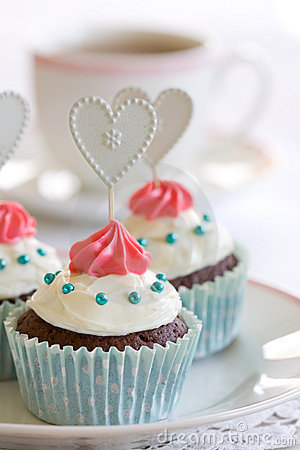 Free Cupcakes Royalty Free Stock Photo - 10977055