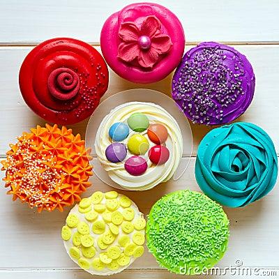 Free Cupcakes Stock Image - 25182731