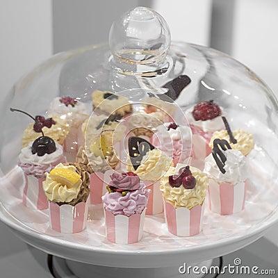 Free Cupcakes Stock Image - 44353631