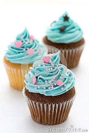 Free Cupcakes Royalty Free Stock Photos - 8499448
