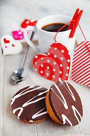 Cupcakes and coffee made with love
