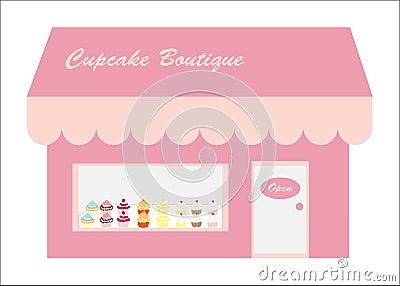 Cupcakes Store / Shop Logo