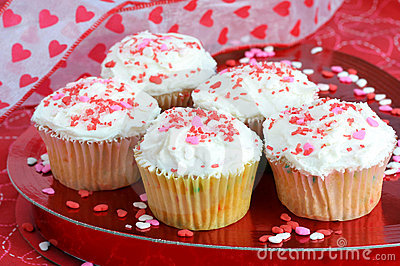 Cupcakes for Valentine s Day