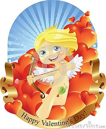 Cupid Valentines Day